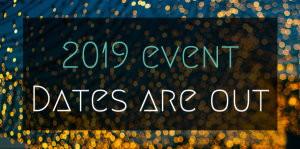 New event dates are out for 2019