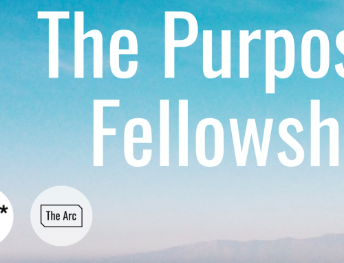 The Purpose Fellowship (Cohort 2) Applications open until Tues 16th June 2020